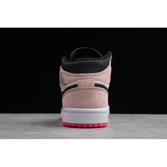 Hot Air Jordan 1 Mid SE Crimson Tint For Sale Womens 852542 801