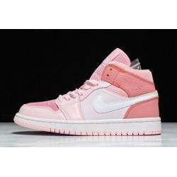Cheap Air Jordan 1 Mid in Digital Pink Releasing Soon Womens CW5379 600