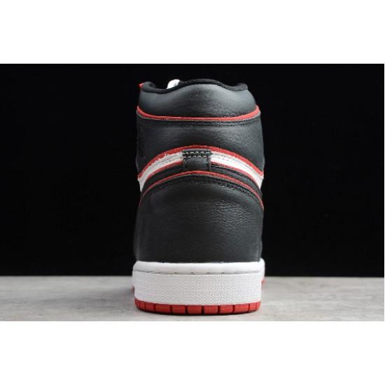 Latest Air Jordan 1 High OG Meant To Fly Black Gym Red White 555088 062