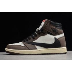 Best Air Jordan 1 Retro High OG Mocha Grey Youth CD4487 100