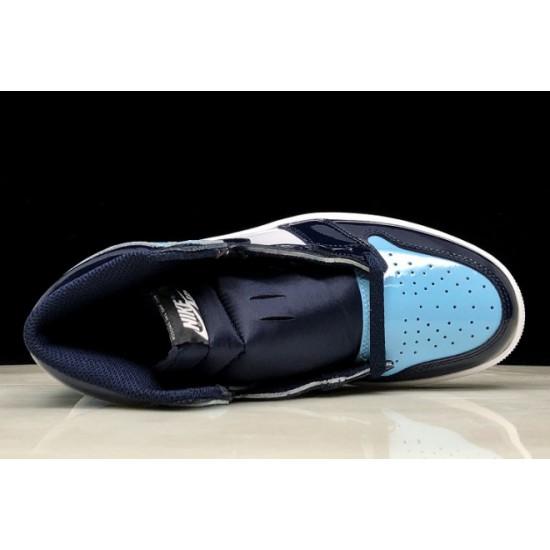 Buy Air Jordan 1 Retro High OG UNC Patent Obsidian Blue Chill White Mens CD0461 401