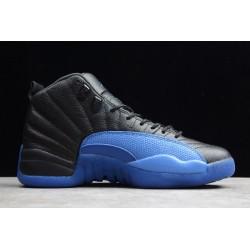 Hot Air Jordan 12 Game Royal Black Blue Men 130690 014