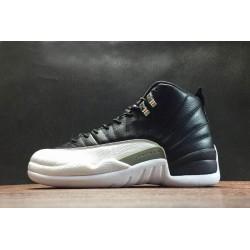 Buy Air Jordan 12 Retro Playoffs Black White Men 130690 001