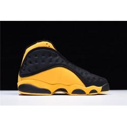 Latest Air Jordan 13 Melo Class of 2002 Black University Red University Gold  Men 414571 035