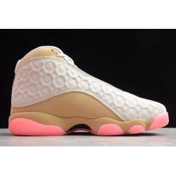 New Air Jordan 13 Retro Cny Pink Ivory Gold Club Black Digital Pale Men cw4409 100