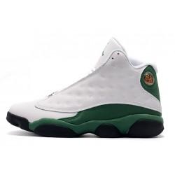 Fashion Air Jordan 13 Retro White Lucky Green Men DB6537 113
