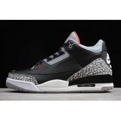 Best Air Jordan 3 Retro Black Cement Mens 854262 001
