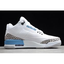 Buy Air Jordan 3 UNC White Valor Blue Tech Grey Mens CT8532 104