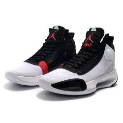 New Air Jordan 34 GS White Red Orbit Men ARBq3384 100