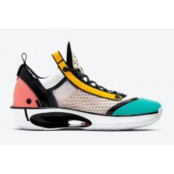 Hot Air Jordan 34  Low Guo Ailun Pop Art Women CZ7748 100