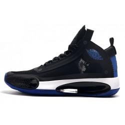 Latest Air Jordan 34 Black Royal Blue White Online 10771342