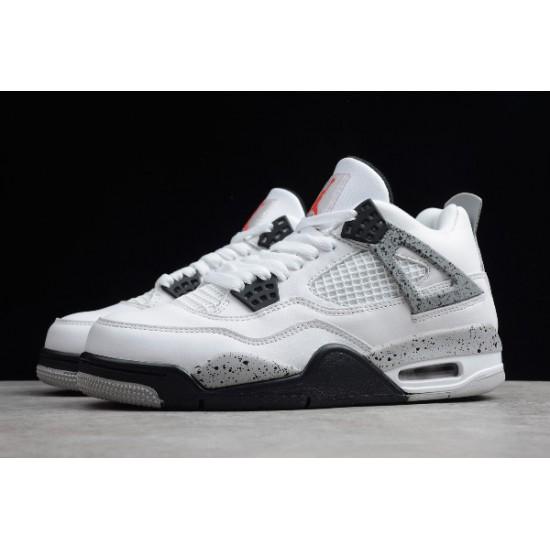 Fashion Air Jordan 4 Retro White Cement Mens 836016 192