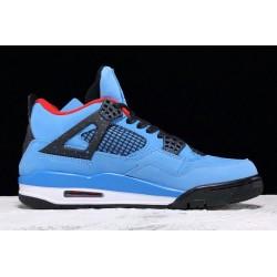 Newest Air Jordan 4 Retro x Travis Scott Cactus Jack Mens 308497 406