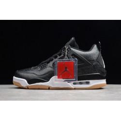 Best Air Jordan 4 SE Laser Black White Gum Light Brown Mens CI1184 001