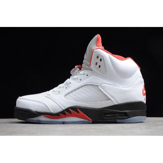 Best Air Jordan 5 Retro Fire Red  Fire Red Men DA1911 102
