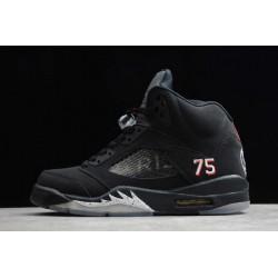 Fashion Air Jordan 5 Retro PSG Paris Saint Germain Baskball Shoes Men AV9175 001