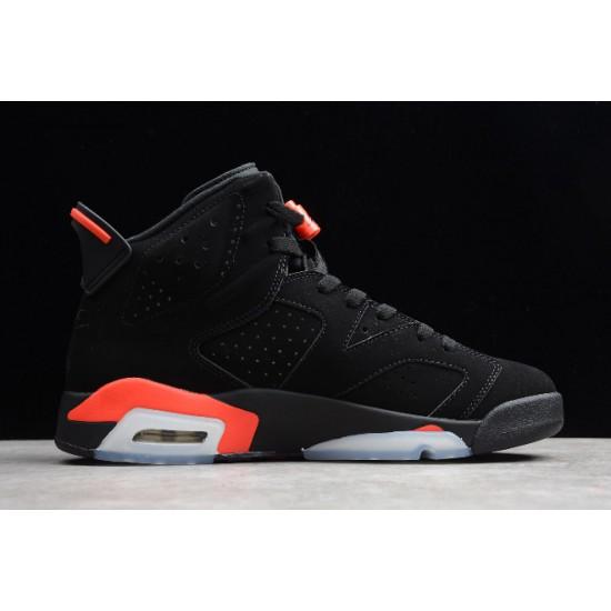New Air Jordan 6 Retro Black Infrared Men CT384664 060