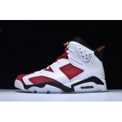 Cheap Air Jordan 6 Retro Carmine White Red Men CT384664 160
