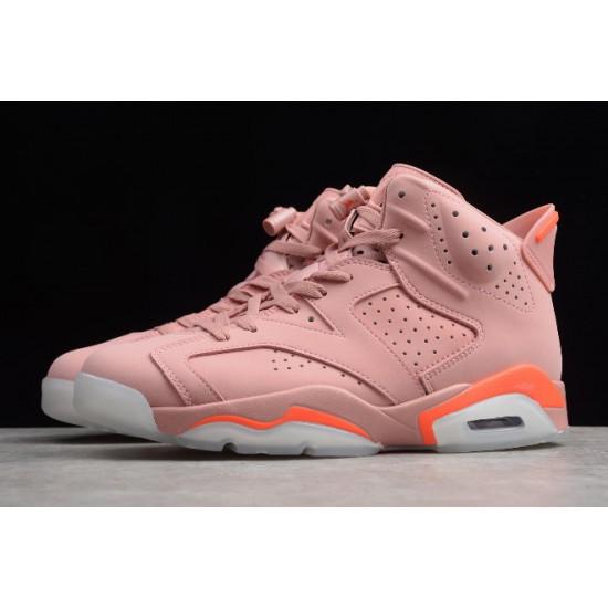 Hot Air Jordan 6 Retro Millennial Pink Women CI0550 600