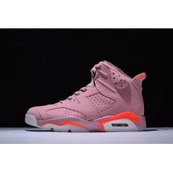 Newest Air Jordan 6 Retro Millennial Pink Youth 384664 031